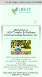 Mobile Preview of lighthealth.org
