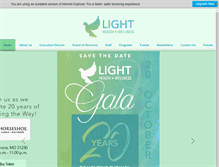 Tablet Preview of lighthealth.org